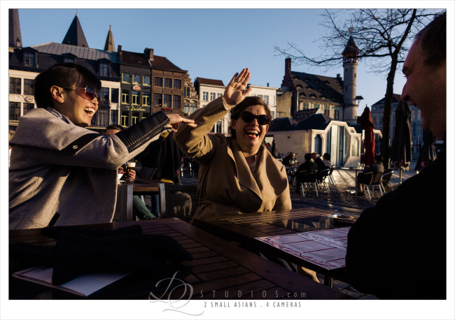 Chilling with friends in Ghent, Belgium - Sony RX100M3 at ISO100, 1/1250 and f2.8