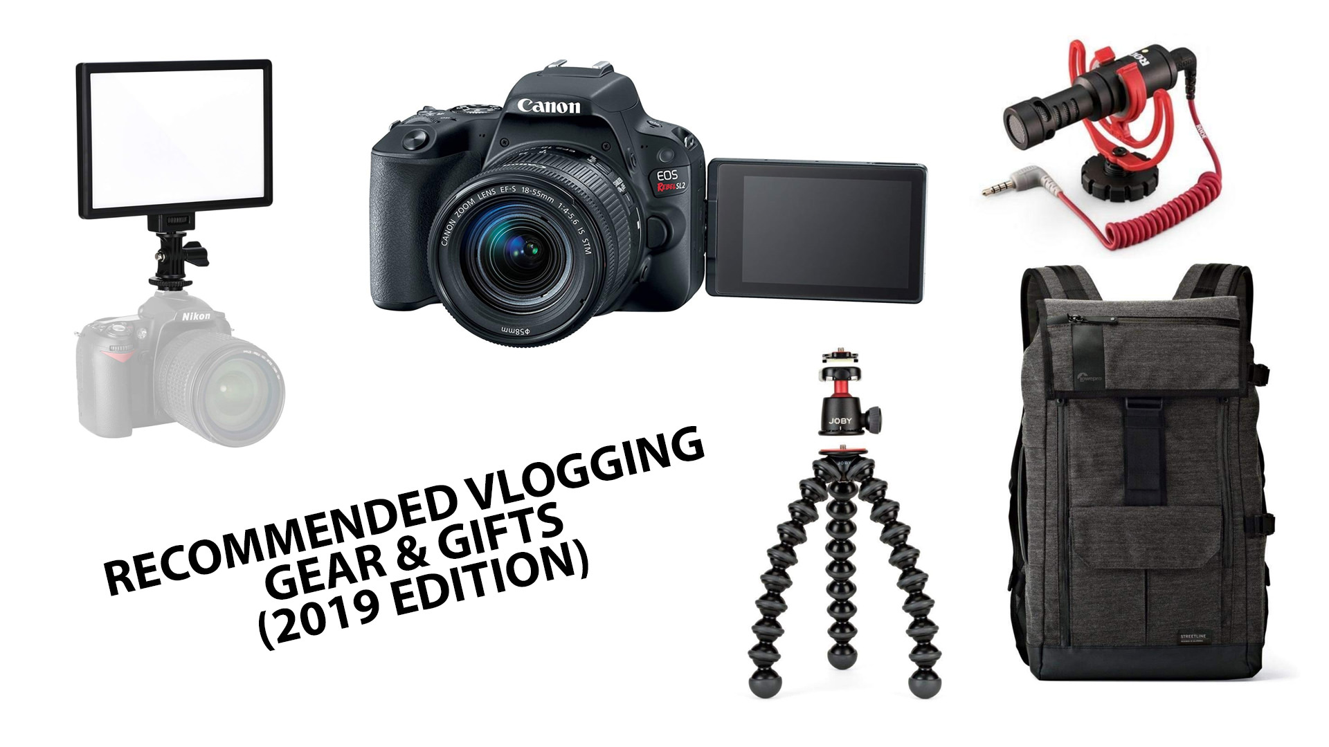 Recommended Vlogging Camera Gear - Not So Ancient Chinese